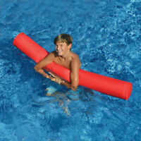 """Swimline 55"""" Sunsoft Fabric Covered Swimming Pool Doodle Float Noodle - Red"""