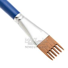 "#W6 6-tip Painting Brush 1"" WISP Face Body 25mm facepaint comb Rake Water Color"