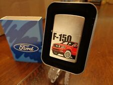FORD F-150 TRUCK RED ZIPPO LIGHTER MINT IN BOX 2004