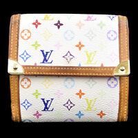 Auth LOUIS VUITTON Porte Monnaie  Bifold Wallet Monogram Multi M92983 09R358