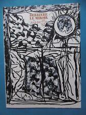 RIOPELLE  Derrière le Miroir n°232 DLM  9 Lithographies originales 1979 Montréal