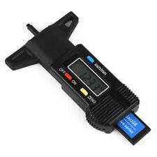 Black LCD Display Digital Depth Gauge Tyre Tread Brake Pad Shoe Pad Wear 0-25mm