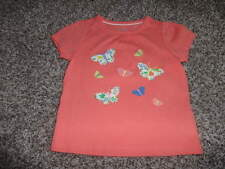 Nwot New Baby Boden 12-18 Butterfly Tee Shirt
