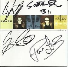 CRUSH  Here   CD  2002 Warner Music  Signed Autographed