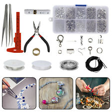 New Diy Jewellery Making Repairing Kit Beading Wire Starter Caliper Craft Tools