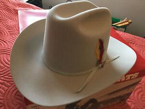 New Stetson Hat  7-3/4 Mist Grey Rancher  XXXXXX