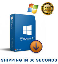 Microsoft Windows 8.1 Professional Pro - 32/64 bit - Multilingual 100% Original