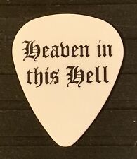 ALICE COOPER - ORIANTHI - GUITAR PICK - HEVEN IN THIS HELL - TOUR USED PICKS