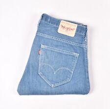 "LEVI'S 504 Straight Blue men Jeans Size 33 (inseam 28 3/4"")"