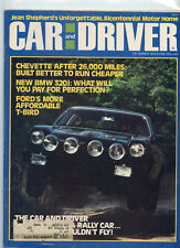 December 1976 Car and Driver Magazine Cosworth Vega Cover