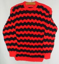 Ladies Hand Knitted Striped Jumper