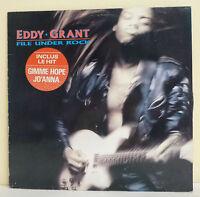 """33 tours Eddy GRANT Disque Vinyle LP 12"""" FILE UNDER ROCK - PARLOPHONE 7903431"""