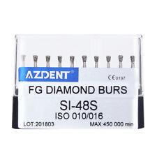 Dental Diamond Burs 45,000RPM High Speed Polishing Kit SI-48S 10pcs/box