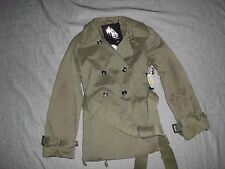 Equipement General Technique G.E.T. Trench Coat Jacket Size L