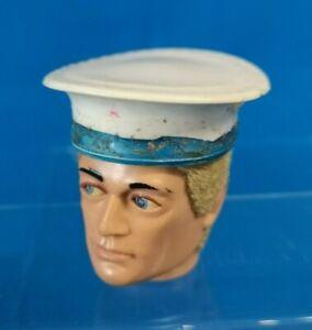 Vintage ACTION MAN Original BRITISH NAVY Sailors Hat 1970s PALITOY GI Joe Cap