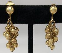 Vintage Avon Drop Dangle Clip On Earrings