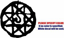 "Blood Seal Symbol Decal Sticker JDM Funny Vinyl Car Window Bumper Truck Wall 6"""