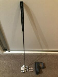 Scotty Cameron Fastback Putter with 5g, 10g, 15g and 20g weights + wrench