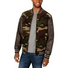 Club Room Mens Lightweight Fall & Spring Bomber Jacket Outerwear BHFO 3650