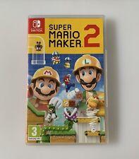Super Mario Maker 2 - Standard Edition (Nintendo Switch, 2019)