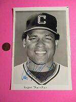 Large 1980 Andre Thornton Cleveland Indians Signed AUTOGRAPH AUTO Photograph