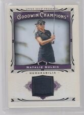 NATALIE GULBIS 2013 UD GOODWIN CHAMPIONS RELIC SWATCH CLOTHING