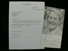 Eric Morecambe & Ernie Wise - Two Hand Signed Items