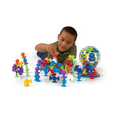 Squigz 50 Piece Set - Suction Construction For Kids Aged 3 to Adult!