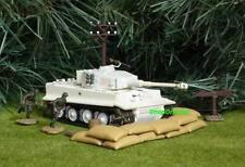 F-TOYS 1:72 BATTERY MOTOR TANK WW2 GERMAN TIGER I WINTER RUSSIA BUILT FT_Tank_1b