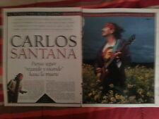 Santana collection lot press magazine clippings newspaper articles interviews