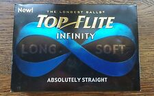 12 Golf Balls Top Flite Infinity Long Soft Absolutely Straight