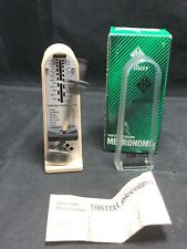 Wittner Taktell Piccolo Keywound Metronome - Ivory - New with Free Shipping