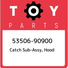 53506-90900 Toyota Catch sub-assy, hood 5350690900, New Genuine OEM Part