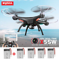 Genuine SYMA X5SW FPV Wifi Camera View RC Quadcopter Drone 2.4G With Gyro Black