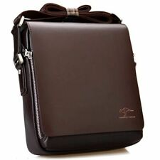 messenger bag Vintage leather shoulder bag Handsome crossbody bag