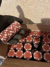 Spiel Jetons 1000 Stück Im karton Rot Weiss F.Casino Roulette Party Poker Feste