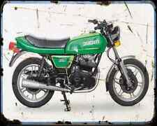 Ducati 350Gtv 1 A4 Metal Sign Motorbike Vintage Aged