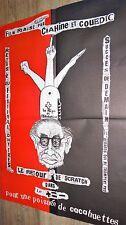 POUR UNE POIGNEE DE CACAHUETTES  ! affiche cinema 1978