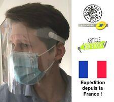 Visière de protection anti-projection masque 29x22cm / Livraison OFFERTE
