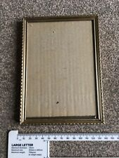 Small Gold Coloured Frame