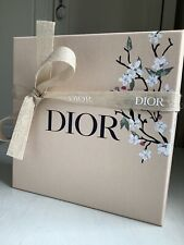 DIOR Luxury Gift Box Tissue Ribbon Set Brand New Spring Summer 2021 VIP