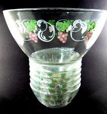 New listing Vintage 7 pc Fruit Salad Bowls Set Unused Clear Glass Arcoroc France (W4-1)