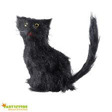 gatto nero sfortunato 12 cm halloween allestimento ambiente horror