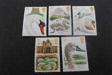 GB MNH STAMP SET 1993 Abbotsbury Swannery Swans SG 1639-1643 UMM