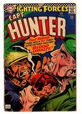 DC Comic: Our Fighting Forces #105 1967 Capt. HUNTER