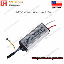 Constant Current LED Driver 30W DC 20-42V 900mA Lamp Waterproof Power Supply USA