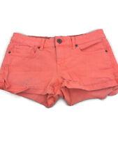 Aeropostale Pink Jean Shorts Cuffed Juniors Size 5/6