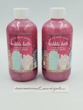 X2  Bath & Body Works Bubble Bath CRYSTAL CANDY ROSE 8 fl.oz/236 ml