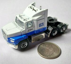 Lake Speed Ford Aeromax Semi Truck Convoy NASCAR Racing Matchbox MBX Loose Rare