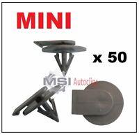 BMW MINI COOPER Plastic Wheel Arch Trim Clips Side skirts